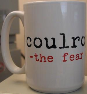 coulrophobia definition Large Mug