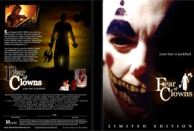 fear of clowns DVD